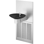 Halsey Taylor OVL-II ER W BLK BASIN Barrier Free 8 GPH Water Cooler (Refrigerated Drinking Fountain)