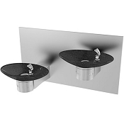 Halsey Taylor OVL-II ESBP BLK BASIN Reversed Bi-Level Barrier Free Drinking Fountain (Non-refrigerated)