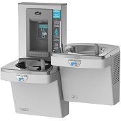 Oasis PGEBFSLTT Hands-Free Versafiller Drinking Fountain and Bottle Filling Station (Non-refrigerated)