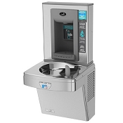Oasis PGEBFT Hands-Free Versafiller Drinking Fountain and Bottle Filling Station (Non-refrigerated)