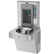 Oasis PGV8SBF Vandal Resistant Barrier Free VersaFiller 8 GPH Water Cooler and Bottle Filling Station (Refrigerated Drinking Fountain)