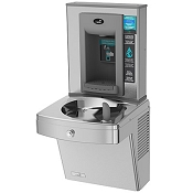 Oasis PGV8EBF Vandal Resistant Barrier Free Electronic VersaFiller 8 GPH Water Cooler and Bottle Filling Station (Refrigerated Drinking Fountain)