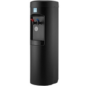 Clover D7A Black Cabinet Hot and Cold Point-of-Use Water Cooler (Bottleless Water Cooler)
