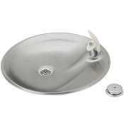 ELKAY DRKR14RC Swirlflo Countertop Drinking Fountain with Remote Pushbutton (Non-refrigerated)