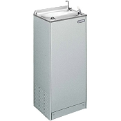 Elkay EFHA14L1Z Free Standing Floor Model 14 GPH Water Cooler with Hot Water Service (Refrigerated Drinking Fountain)
