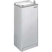 ELKAY EFY8S1Z Free Standing Floor Mount Explosion Proof Stainless Steel 8 GPH Water Cooler (Refrigerated Drinking Fountain) - OBSOLETE