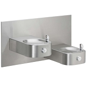 ELKAY EHW217C Bi-Level Soft Sides ADA Heavy Duty Drinking Fountain (Non-refrigerated)