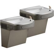 Elkay EZSTLRDDLC Reversed Bi-Level ADA Barrier Free Drinking Fountain (Non-refrigerated) - REPLACED BY ELKAY EZSTLDDLC