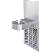 Elkay LCRSPM8K Soft Sides ADA 8 GPH Filtered Water Cooler (Refrigerated Drinking Fountain)
