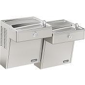 Elkay LVRCTLDDSC Bi-Level Vandal Resistant Filtered ADA Drinking Fountain (Non-refrigerated)