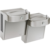 Elkay VRCHDTLDDSC Bi-Level Barrier Free Vandal Resistant Drinking Fountain (Non-refrigerated)