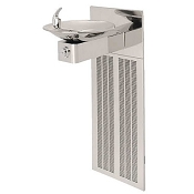 Haws H1001.8HPS Barrier Free 8 GPH Water Cooler (Refrigerated Drinking Fountain)