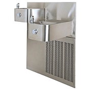 Haws H1119.8 Bi-Level Barrier Free 8 GPH Water Cooler (Refrigerated Drinking Fountain)