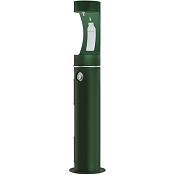 Halsey Taylor 4400BF Endura II Tubular Pedestal Outdoor Bottle Filling Station (Non-refrigerated)
