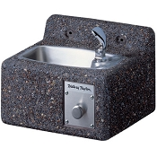 Halsey Taylor 4592 FR Freeze-Resistant Sierra Stone Face-Mounted Drinking Fountain (Non-refrigerated)