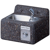 Halsey Taylor 4592 Sierra Stone Face-Mounted Drinking Fountain (Non-refrigerated)