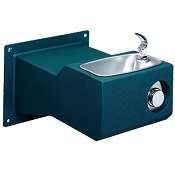 Halsey Taylor 4705 FR FTN Endura Steel Freeze-Resistant Barrier Free Drinking Fountain (Non-refrigerated)