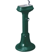 Halsey Taylor 4881 FR FTN - 36 Inch Cast Iron Pedestal Freeze-Resistant Fountain (Non-refrigerated)