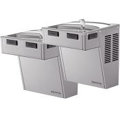 Halsey Taylor HAC8FS-BLR-Q ADA Reversed Bi-Level Barrier Free 8 GPH Water Cooler (Refrigerated Drinking Fountain)
