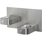 Halsey Taylor HDFFBLEBP-FR Heavy Duty Bi-Level Barrier Free Freeze Resistant Drinking Fountain (Non-refrigerated)
