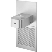 Halsey Taylor HRFER-EE-Q Barrier Free 8 GPH Water Cooler with Electronic Eye (Refrigerated Drinking Fountain)