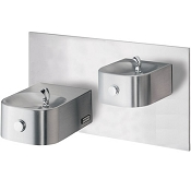 Halsey Taylor HRF-ESBP FR Reversed Bi-Level Barrier Free Freeze-Resistant Drinking Fountain (Non-refrigerated)