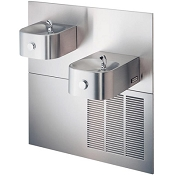 Halsey Taylor HRFSER-Q Bi-Level Barrier Free 8 GPH Water Cooler (Refrigerated Drinking Fountain)