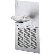 Halsey Taylor OVL-II ER-EE-Q Barrier Free 8 GPH Electronic Eye Water Cooler (Refrigerated Drinking Fountain)