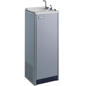Halsey Taylor SCWT14-CB-Q 14 GPH Free Standing Water Cooler with Hot Water Tank (Refrigerated Drinking Fountain)
