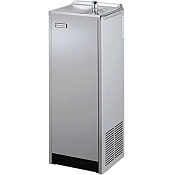 Halsey Taylor SCWT14A-VR-Q 14 GPH Free Standing Vandal Resistant Water Cooler (Refrigerated Drinking Fountain)