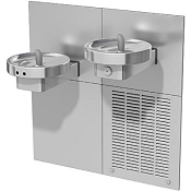 Oasis M8CREM Bi-Level Barrier Free 8 GPH RADII Water Cooler with Electronic Eyes (Refrigerated Drinking Fountain)