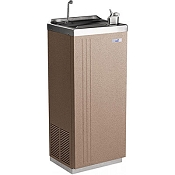 Sunroc NSFD14H Free Standing Hot 'N' Cold 14 GPH Water Cooler (Refrigerated Drinking Fountain)