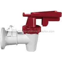 Oasis 032135-114 - White Body, Red Safety Handle - Faucet Assembly
