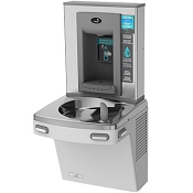 Oasis PG8EBF Barrier Free Electronic VersaFiller 8 GPH Water Cooler and Bottle Filling Station (Refrigerated Drinking Fountain)