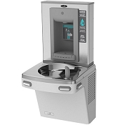 Oasis PG8SBF Barrier Free VersaFiller 8 GPH Water Cooler and Bottle Filling Station (Refrigerated Drinking Fountain)