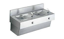 Elkay Non-Refrigerated Multi-Station Drinking Fountains