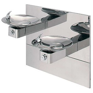 Haws 1011HPSMS Bi-Level Barrier Free Drinking Fountain (Non-refrigerated)