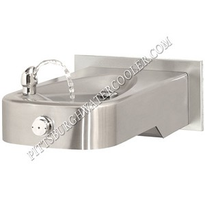 Haws 1107LBP Barrier Free Drinking Fountain with Antimicrobial Protection (Non-refrigerated)