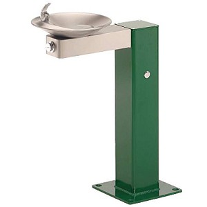 Haws 3377 Barrier Free Outdoor Drinking Fountain (Non-refrigerated)