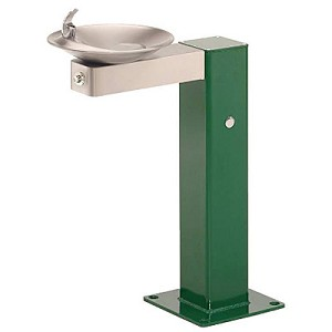 Haws 3377FR Barrier Free Freeze Resistant Outdoor Drinking Fountain (Non-refrigerated)
