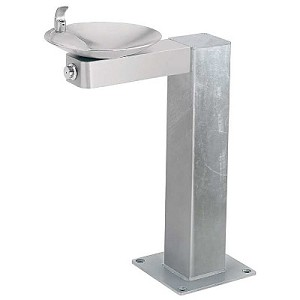 Haws 3377G Barrier Free Outdoor Drinking Fountain (Non-refrigerated)