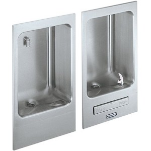 ELKAY EDFBC212C Fully Recessed ADA Drinking Fountain/Cuspidor (Non-refrigerated)