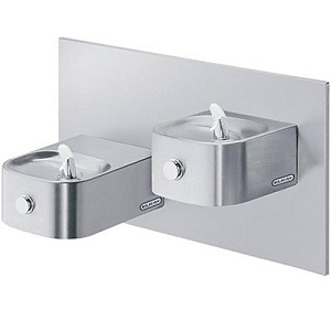 ELKAY EDFP217RAC Reversed Bi-Level Soft Sides ADA Drinking Fountain (Non-refrigerated)