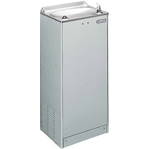 ELKAY EFOA8L1Z Sensor-Operated Free Standing Floor Model 8 GPH Water Cooler (Refrigerated Drinking Fountain)