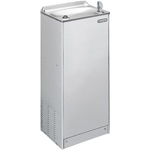 ELKAY EFY8S1Z Free Standing Floor Mount Explosion Proof Stainless Steel 8 GPH Water Cooler (Refrigerated Drinking Fountain)