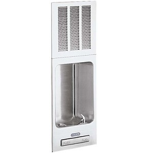 ELKAY EHFRAM7K Wall Mounted Fully Recessed 7 GPH Water Cooler (Refrigerated Drinking Fountain)