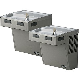ELKAY EMABFTL8LC Bi-Level ADA 8GPH Water Cooler (Refrigerated Drinking Fountain)