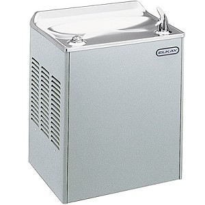ELKAY EWCA14L1Z Compact Wall Mounted 14 GPH Water Cooler (Refrigerated Drinking Fountain)