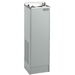 ELKAY FD70010L1Z Space-ette Free Standing 10 GPH Water Cooler (Refrigerated Drinking Fountain)