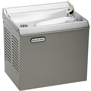 ELKAY HEWDS Compact Wall Mounted Slant Front Drinking Fountain (Non-refrigerated)